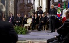 Mattarella alle Alte cariche dello Stato: partiti riflettano e concorrano per l'Italia