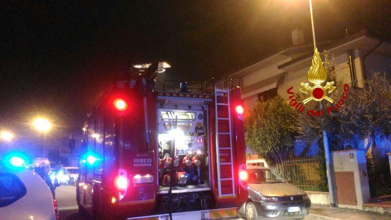 Incendio in un appartamento, muore una donna di 71 anni