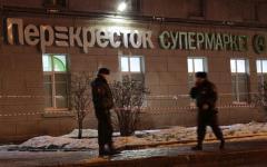 San Pietroburgo: bomba in un supermercato, 10 i feriti, l'Isis esulta