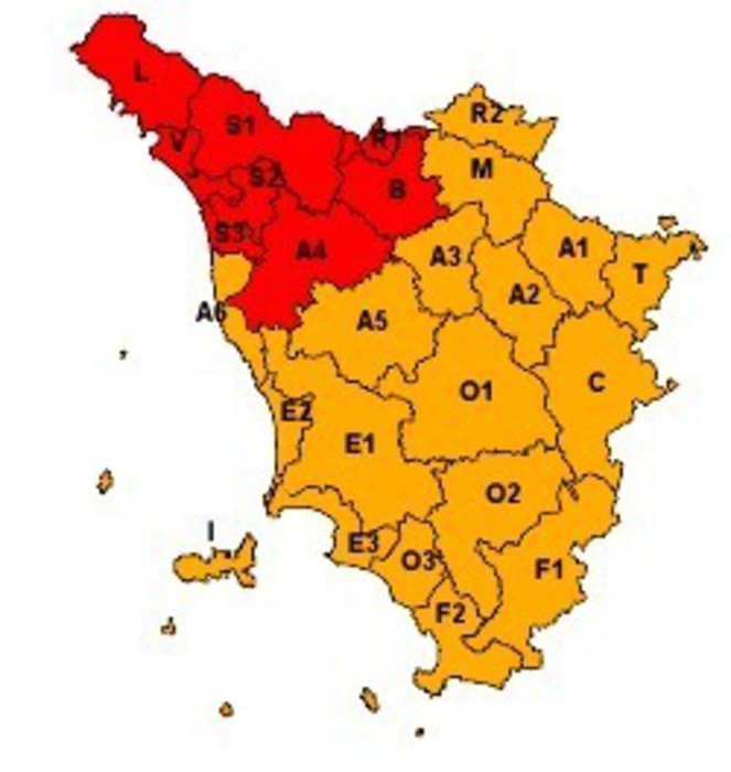Attesi temporali e calo termico, allerta meteo sulla Sicilia