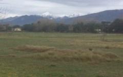 Massa, maltempo: prima neve sulle Apuane, con le cime imbiancate (foto)
