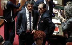 Roma: Renzi riunisce i fedelissimi, summit nello studio di Marcucci