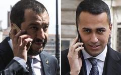 Manovra: lite Salvini - Di Maio sui tagli di altri 5 miliardi chiesti dalla Ue