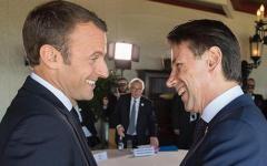 Governo: Conte medita di annullare l'incontro con macron dopo le accuse francesi all'Italia