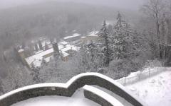 Maltempo in Toscana: codice giallo per neve sulle alture di Pistoia, Prato e Firenze