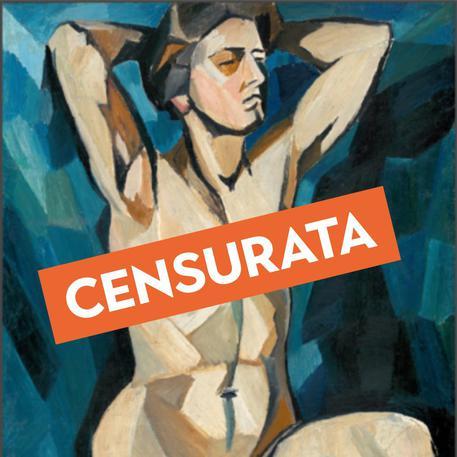 Stop a un'opera della Goncharova — Instagram censura l'arte