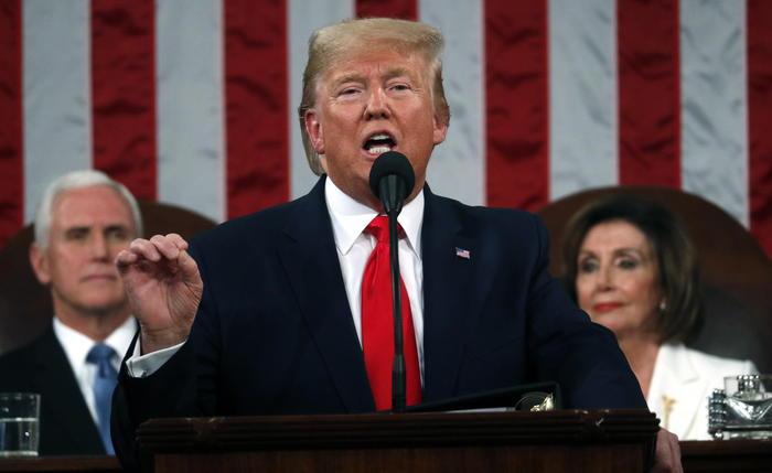 Trump: 'Raggiunti risultati incredibili, siamo di nuovo rispettati'
