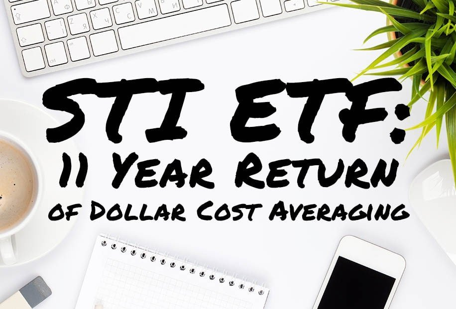 The Ultimate Comprehensive Analysis of The 11-Year Returns of the STI ETF: Part 1 - Dollar Cost Averaging