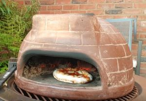chiminea bbq pizza oven