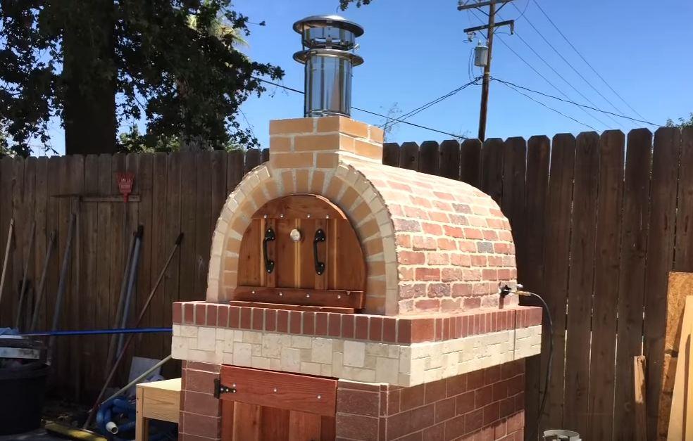 chiminea pizza oven bunnings