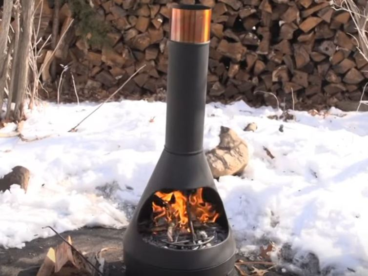 Traditional Mexican oven – an exotic outdoor heater.