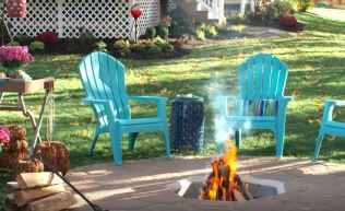 backyard fire pit ideas on a budget