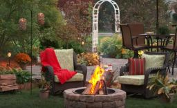 cheap backyard fire pit ideas