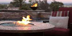 cheap backyard fire pit