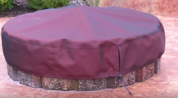 custom fire pit covers