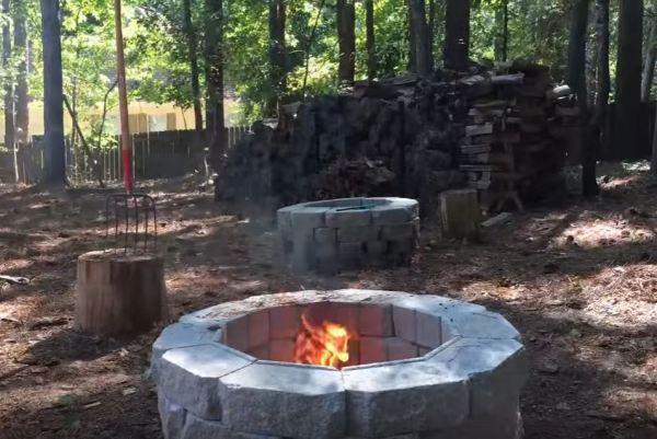 custom fire pit ring