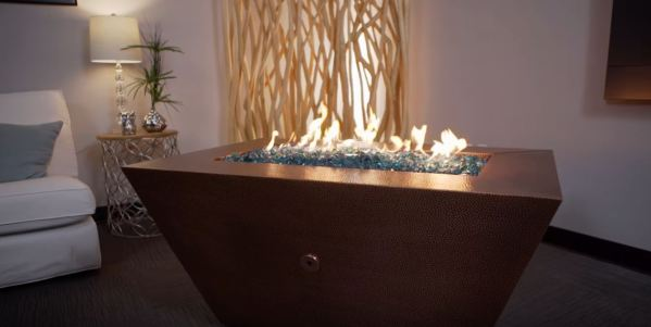 fire pit designs with stone