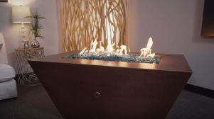 natural gas fire pit designs