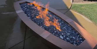 natural gas fire pits for outside