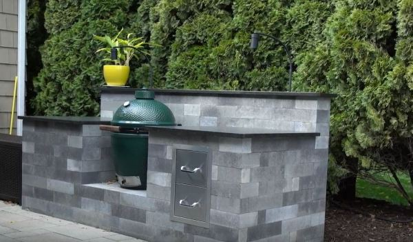 outdoor kitchens on a budget