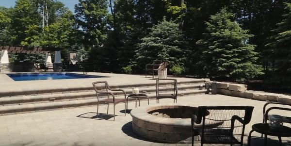 outdoor stone fire pits
