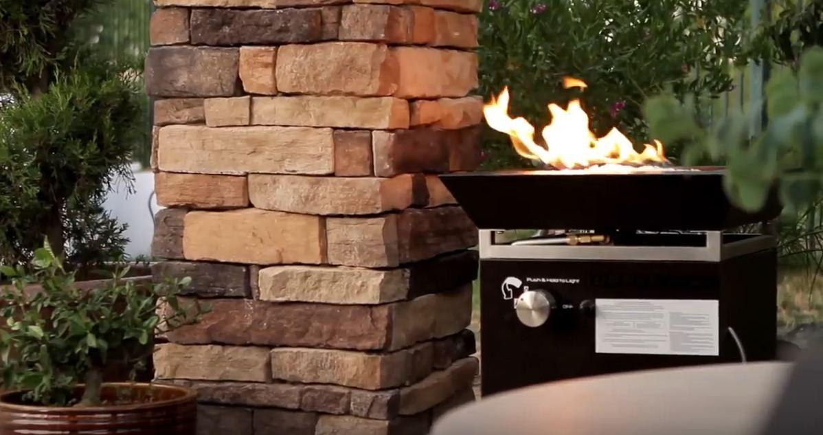 propane fire pits small