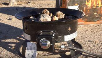 propane portable fire pit