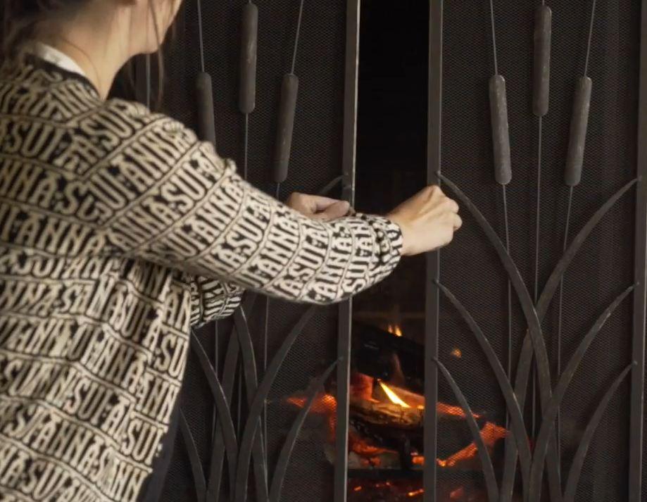 fireplace decorative screens