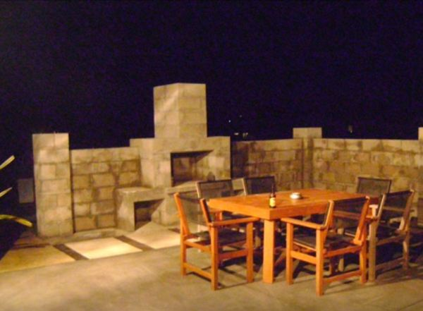 outdoor fireplace kits home depot