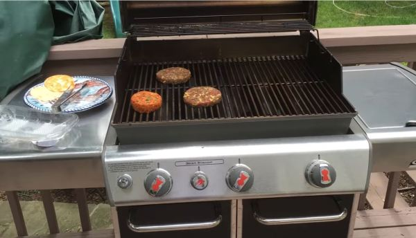 weber electric bbq