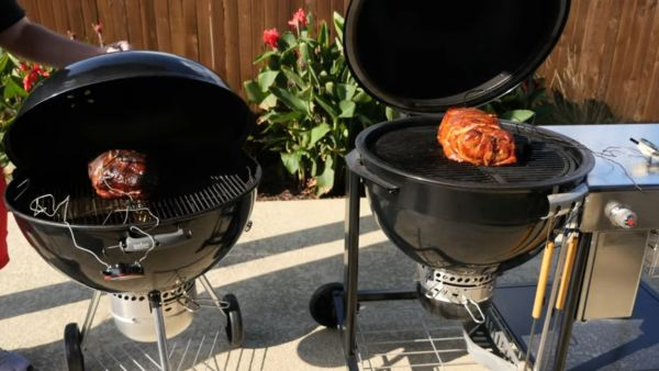 weber electric grill