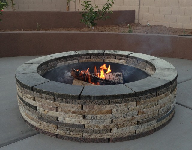 Fire pit rings: materials, production, design and exploitation