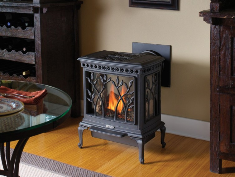 Natural gas fireplace: pros and cons