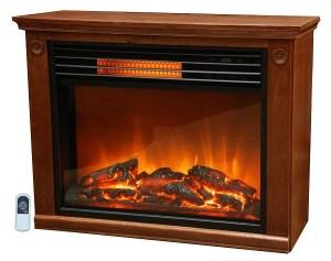 LifeSmart Large Room Infrared Quartz Fireplace insert Review