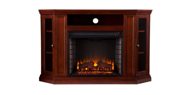 Southern Enterprises Claremont Convertible Media Cherry Electric Fireplace Review