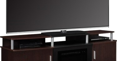touchstone 50 inch onyx electric wall mounted fireplace is