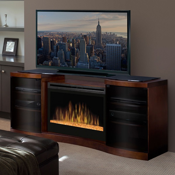 16 Best Electric Fireplace Tv Stand Feb 2019 Reviews