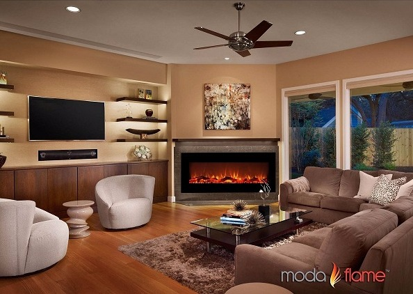 Moda Flame Houston 50 Electric Wall Mounted Fireplace Review