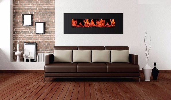 best wall mount electric fireplace - Warm House VWWF-10306 Valencia Widescreen Wall-Mounted Electric Fireplace