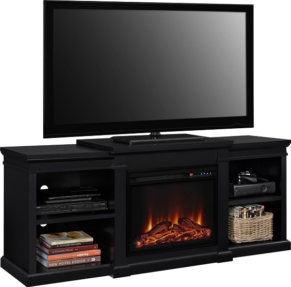 Altra Furniture Manchester TV Stand with Fireplace Review