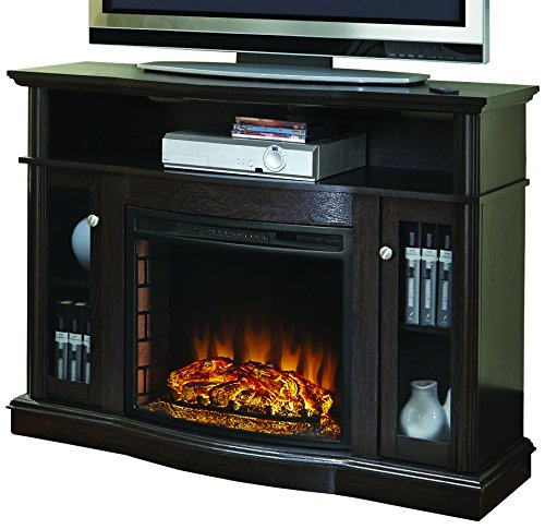 best electric fireplace tv stand Reviews-Pleasant Hearth 248-44-34M Elliot Media Fireplace