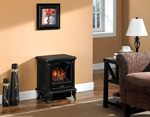 best electric fireplace heater reviews -Duraflame DFS-450-2 Carleton Electric Stove with Heater