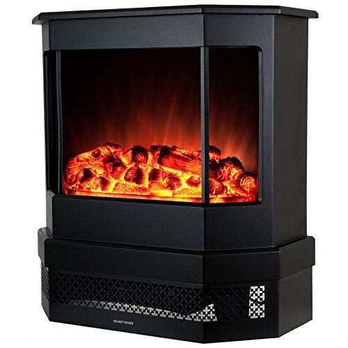"""Best Electric fireplace stove reviews -Golden Vantage European Style Freestanding Portable Modern Electric Fireplace Heater Stove EF330 - 23"""""""