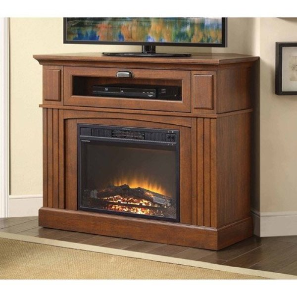 16 best electric fireplace tv stand jan 2019 reviews guide. Black Bedroom Furniture Sets. Home Design Ideas