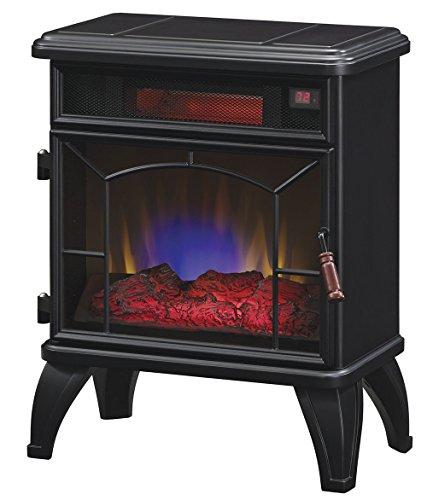 Duraflame DFI-550-0 Mason Freestanding Infrared Quartz Fireplace Stove