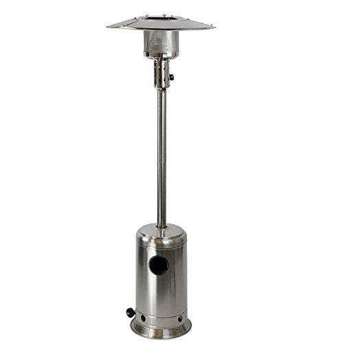 XtremepowerUS 48,000 BTU Premium Floor Standing Propane Outdoor Patio Heater