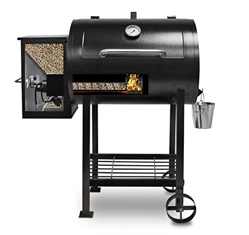 Best Pellet Smoker 2017: Pit Boss 71700FB Pellet Grill with Flame Broiler