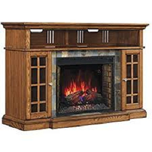 Pleasant Hearth 248-44-34M Elliot Media Fireplace Review