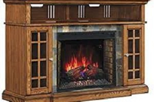 Classic Flame Lakeland Media Console Electric Fireplace (28MM6307-O107) TV Stand Review