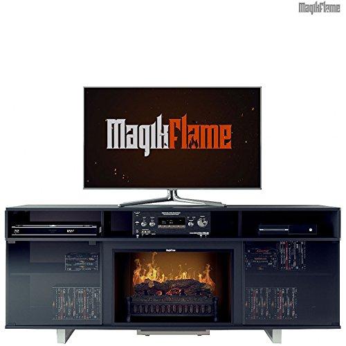 MagikFlame Chronus Media Center Electric Fireplace Review
